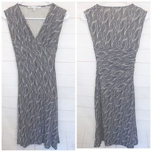 Diane Von Furstenberg Sleeveless Silk Dress Sz 4